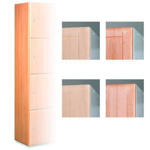 Timber Effect Lockers - End Panels