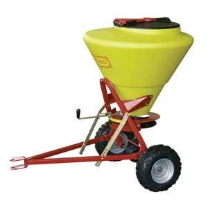 Towable extra large Grit / Salt Spreader