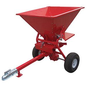 Towable Vehicle Salt Spreader - 160L Capacity