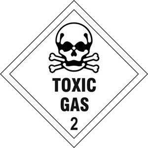 Toxic Gas 2 Diamond Labels