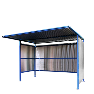 Traditional Cycle Shelter - 2450mm Wide, 2500mm Deep