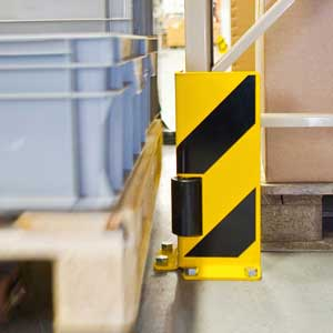 TRAFFIC-LINE Pallet Racking Protectors with Guide Roller