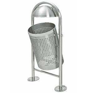 TRAFFIC-LINE Stainless Steel Litter Bin