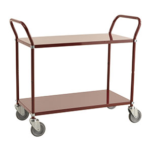 Two Tier Coloured Trolleys