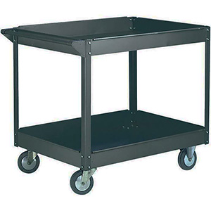 Two tier workshop trolley