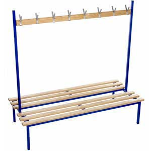 Evolve Range - Square Frame Duo Bench with NO Top Shelf