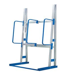 Vertical Racking with 3 Hoop Dividers