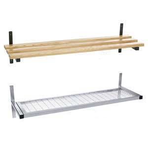 Wall Fixed Mesh or Wood Shelf