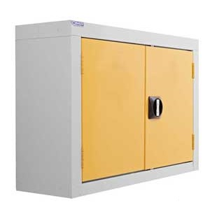 Steel Wall Storage Cupboard, double doors