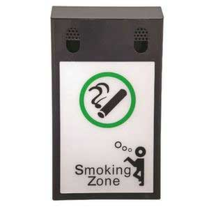 Wall Mounted Smoking Bin With Advertising Space