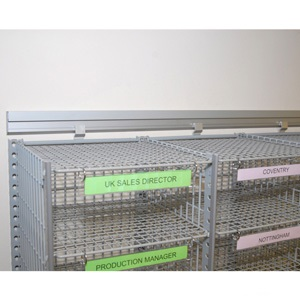 Wall hanging kit for 18/24 compartment sort units