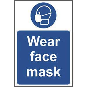 Wear Face Mask Sign