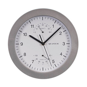250mm Quartz Wall Clock and Weather Centre