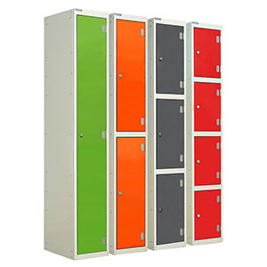 Wet Area Laminate Lockers