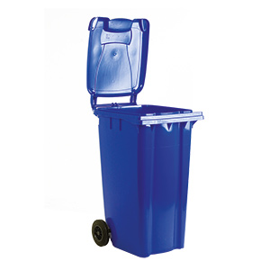 Wheelie Bins in 5 Sizes and 5 Colours
