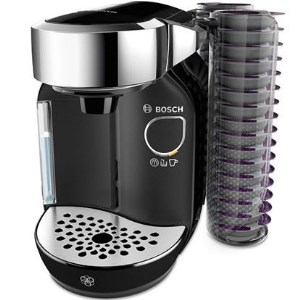 Prize draw entry for a chance to win a Tassimo Caddy when you spend £300 or more