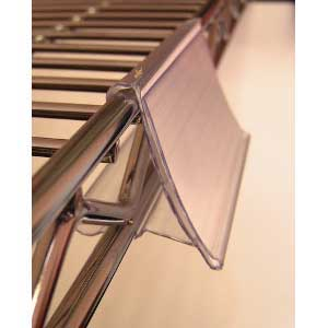 Wire Shelving Clip Holder (packs of 12 or 50)