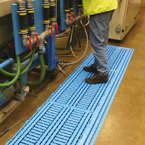 Work Deck Polyethylene Floor Tile