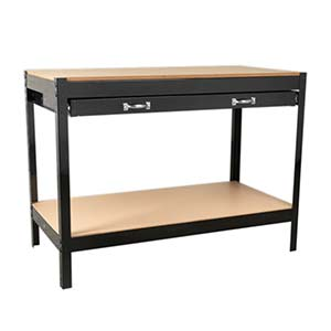 1.2 metre Workstation with 2 Drawers & Rear Panel with FREE UK Delivery