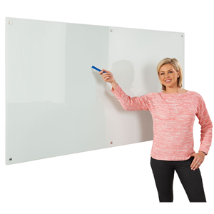 Write-on® Glass Dry-Wipe Boards