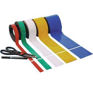 Easy Wipe Magnetic Racking Strip