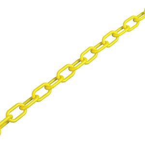Plastic chain in a range of colours