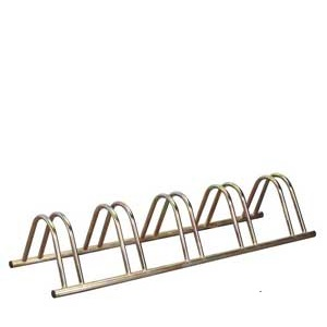 Zinc Plated Floor Bike Racks