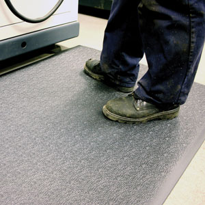 Anti Fatigue Floor Mat in Use