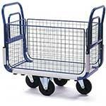 Post Delivery Trolleys - Mesh Side Platform Trolley