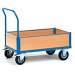 Low Sided Box Cart Trolley