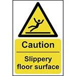 Danger Slippery Surface Sign