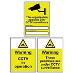 Public Awareness / CCTV Signs