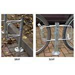 Universal Bike Storage Racks - Post Mount