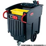 Rubbermaid<br /><br /><br /> Mega Brute Mobile Waste Collector