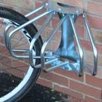 1 & 3 Section Wall Mounted Adjustable Cycle Rack