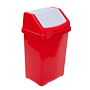 FLIP50/RED Red Recycling Bin