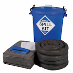Picture of 100L AdBlue® Spill Kit with Round Bin