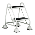Picture of 2 Tread, No handles Glide-along Mobile Steps