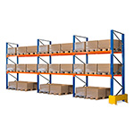 Picture of 3m High Pallet Racking Bays