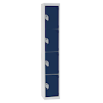 4 compartment Steel Locker