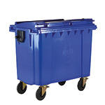 Picture of 4 Wheeled Bin with Lockable Lid