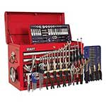 5 Drawer Top Chest Tool Box with 138pc Tool Kit