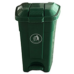 Picture of 70L Wheeled Pedal Bin
