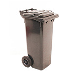 80L Wheelie Bins in 5 Colours
