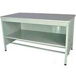 Picture of 840mm High Enclosed Mailroom Workbench with Middle Shelf