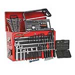 9 Drawer Top Chest Tool Box with 204pc Tool Kit