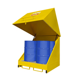 Picture of External Bunded Oil Drum Storage
