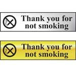 Picture of Thank You For Not Smoking Mini Sign