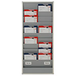 Picture of A4 Portrait Document & Clipboard Racks