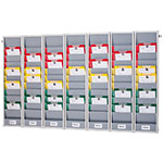 Picture of A4 Weekly Rotating Document Storage Rack Kits